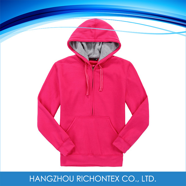 2015 OEM Apparel New Arrival Doblue Layer Women Sweatshirt