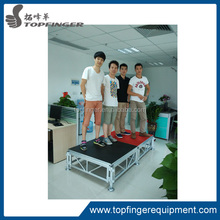 Anti-slip and mobile used stage, outdoor concert stage for sale