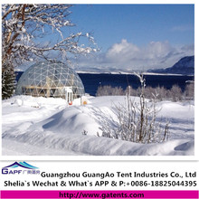 High quality pvc cover geodesic dome