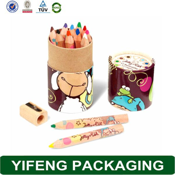 Custom Printing Design New Good Pencil Container Packaging Wooden Pencil Box