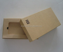 cardboard phone /tablet boxes with inserts, quick start guide and accessories with factory price.