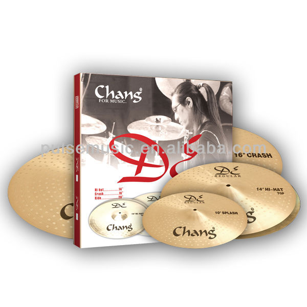Chang B20 Cymbal Set Drum Musical Instrument Cymbal On Sale