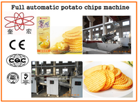 KH-600 baked potato chips factory machines/machine to make potato chips