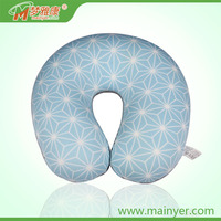 U Shape Travel Neck Pillow Office Cushion Valentines Gift Set Microbeads Pillow With Printing
