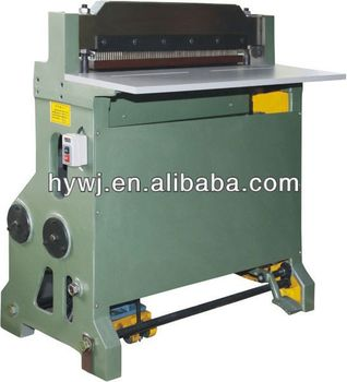 ISO9001 factory manufacturer semi-automatic paper hole punching machine with CE