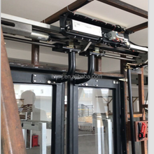 Electrical out sliding plug bus door system/mechanism for pure electrical bus