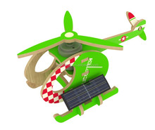 Solar helicopter toy airplane with bright colour for kids