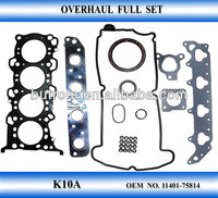 Engine gasket set for K10A cars auto parts OEM 11401 - 75814