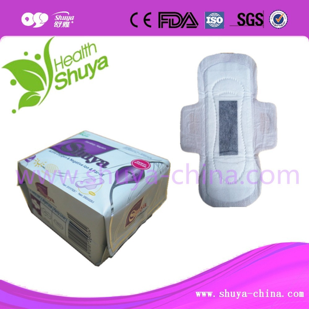 bamboo charcoal Lady Anion Best Sanitary Napkins