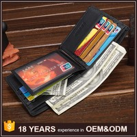 New Style Full Grain Mens Leather Wallets Bifold Wholesale