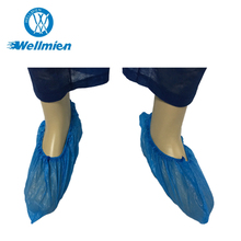 Hospital Use Medical Machine Made Cpe Pe Shoe Cover