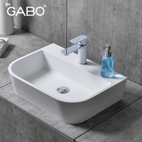 Hot sale high quality made in China basin, undermount counter lavatory