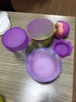 Stretch and Fresh Silicone Bowl Covers and Food Lids Reusable for Environmental