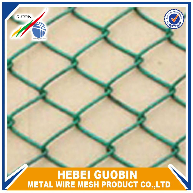 plastic removable chain link inox fence