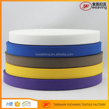 Polyester Colored Herringbone Twill Weave Tape polyester tape