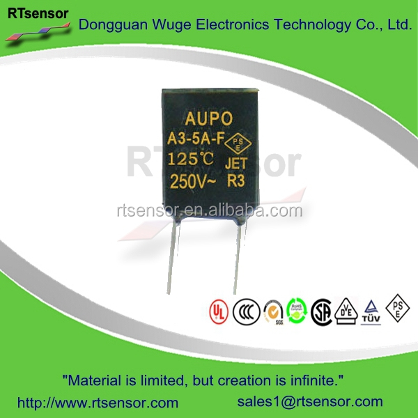 A3-5A-F UMI Electronic Circuit Breaker 250V 3A D02 Fuse Link