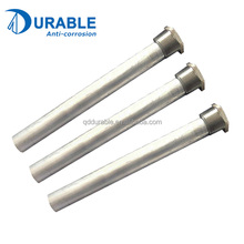 China manufacturer higher quality aluminum rod hot water heater anode for sale