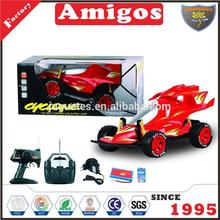 1/10 scale high quality 4 channel rc racing car with rechargeable battery