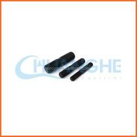 China supplier zinc plated threaded rod/rebar steel price