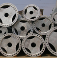 galvanized steel post transmission pole for 69kv distribution line project