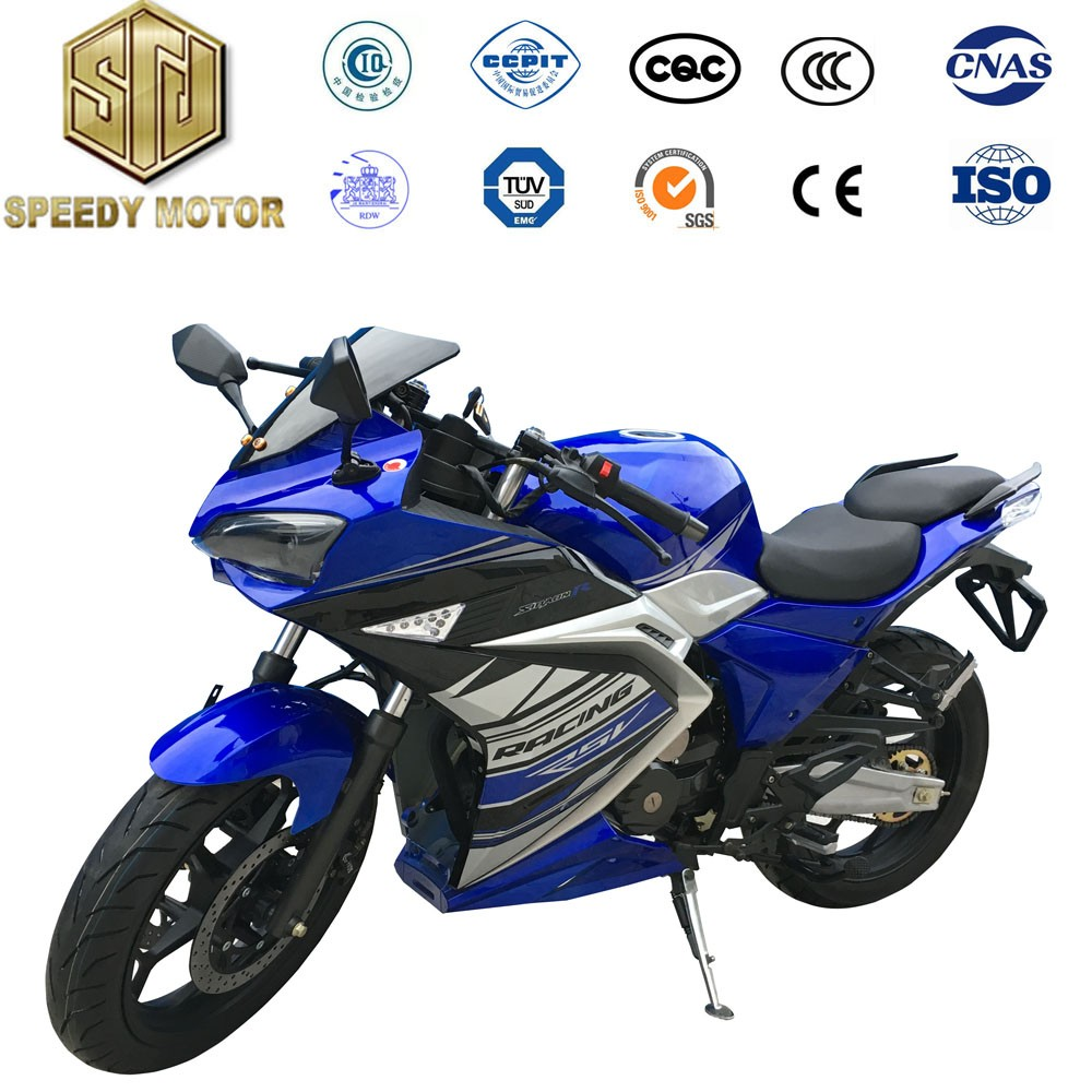 2016 160km/h high speed gasoline racing motorcycle 300cc for adults