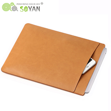 Protective Notebook Case High Density PU Leather Laptop Sleeve Case 11 12 13 15 inch Laptop Cases For Macbook Air/ Pro Retina