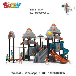 Playground spring rider manufacturers china naughty castle kids digital playground models