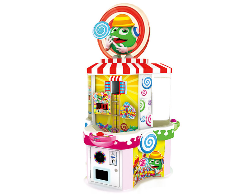 Game Plus Sweets lolli kids intelligence redemption game machine/Kids Coin Operated Candy game