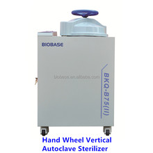 Biobase CE Certified Vertical Autoclave Sterilizer with Hand Wheel