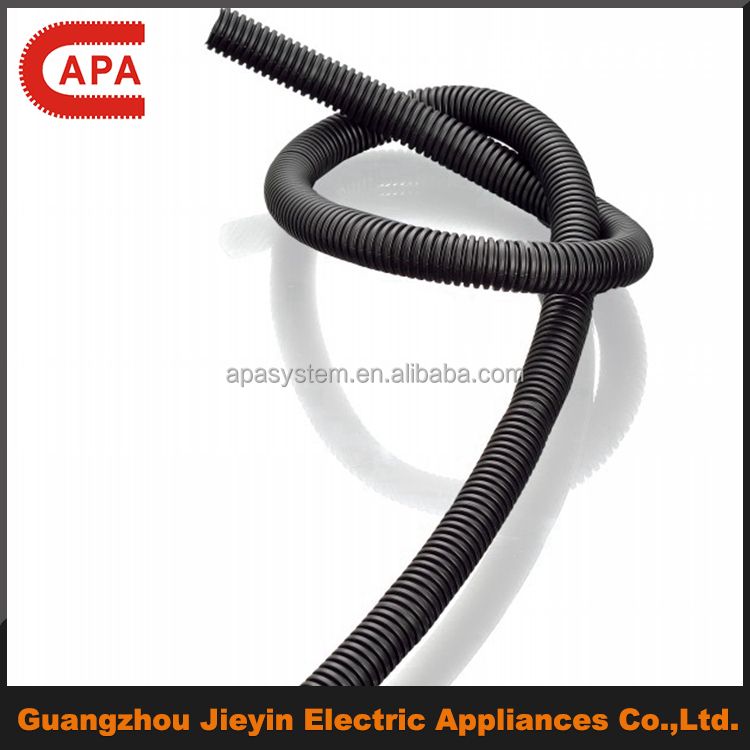 Oil Resistant Flexible Electric PP Corrugated Tubing