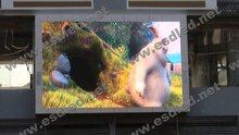 P10 curved outdoor led display