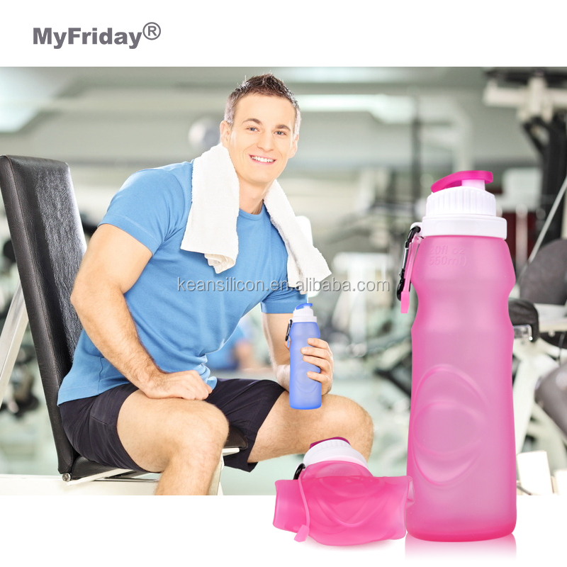 Outdoor Sport Bpa Free Plastic Silicone Squeeze GYM Water Bottles