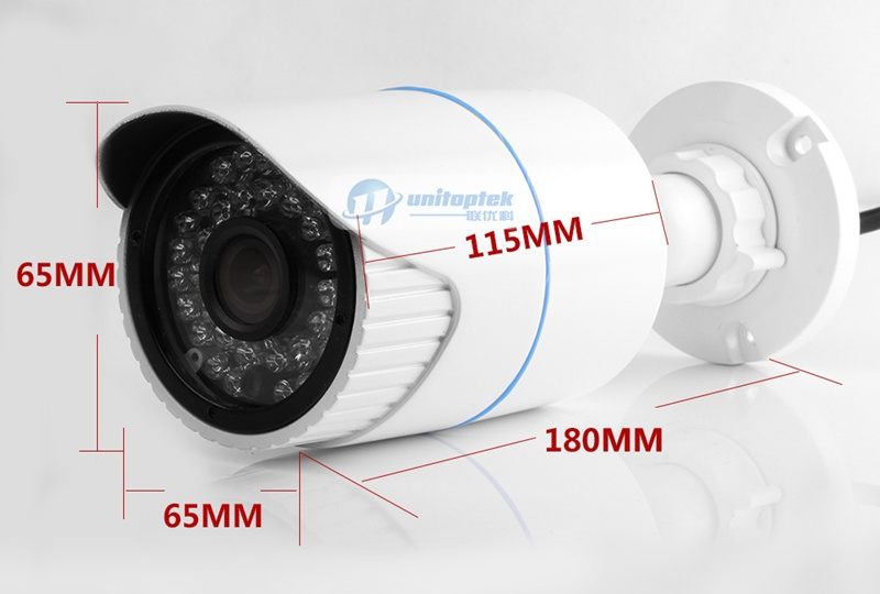 36pcs IR 20M Waterproof HD 4MP Ourdoor IP Camera With POE