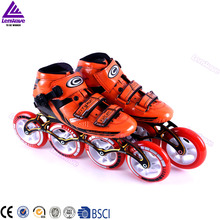 Lenwave brand full carbon colorful professional inline speed skates
