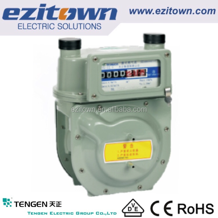 TENGEN GROUP motorized vacuum residual current household diaphragm type fuel gas meter