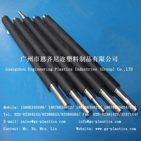 small UHMW-PE UPE PE plastic rollers with ESD anti-static