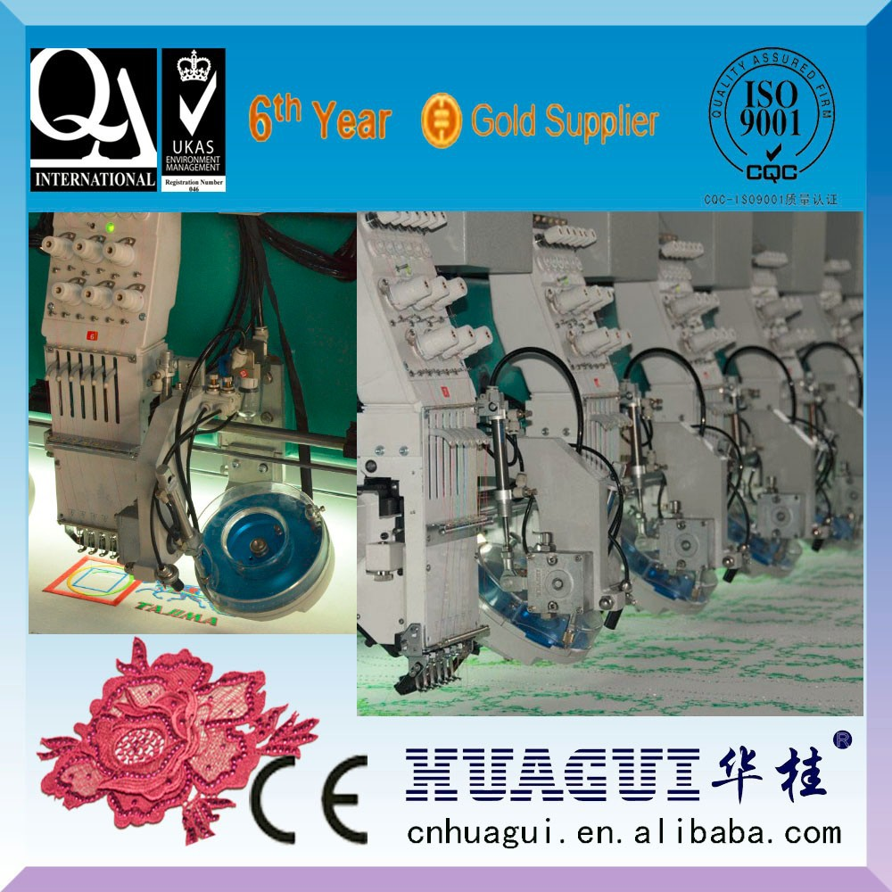Used Barudan Embroidery Machine Prices With Rhinestone setting function.