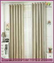New design stripe thicken bay window blackout curtain