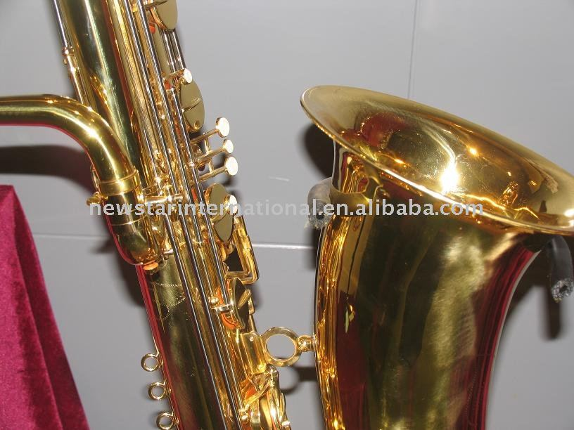 Musical instrument Bass saxophone