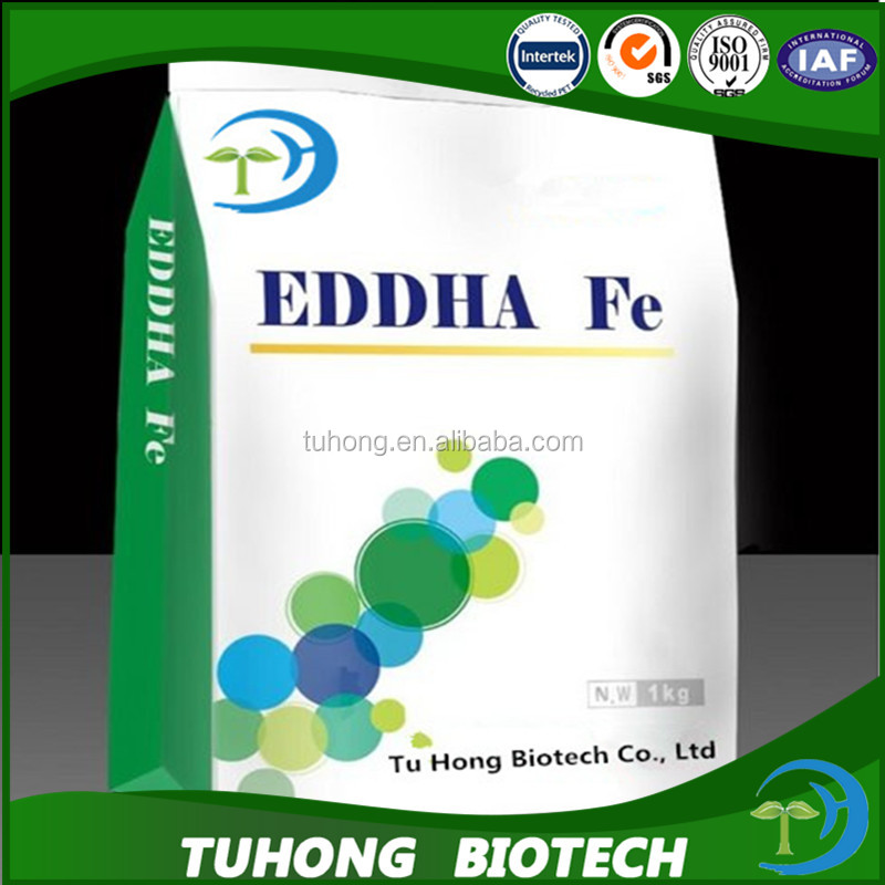 Hydroponic nutrients powder eddha iron 6% chelate Fe fertilizer