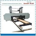 band sawmill for lumber with diesel engine large log cutting horizontal band saw