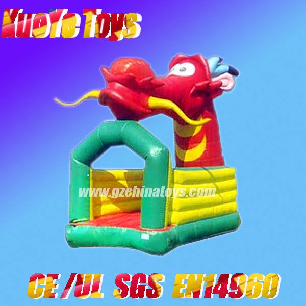 china dragon inflatable bouncer new party rental inflatable castle