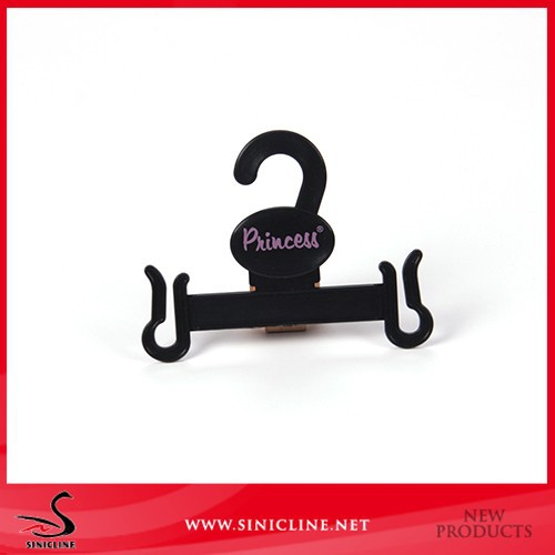 Sinicline custom recycled durable plastic small hangers for slippers