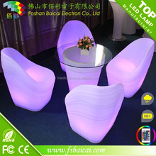led glow wedding and event chairs
