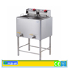Stainless Steel Smokeless Gas Oil-water separation Deep Fryer on Hot Sale