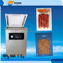 DZ400 stainless steel food package packaging machine/ automatic vacuum packing machine pillow