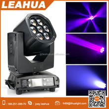 Stage light 7pcs 15W led wash zoom bee eye beam mini moving head