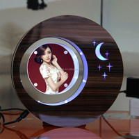 LED suspending in the air magnetic levitation photo frame islamic gift for wedding