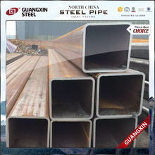 q235 welded rhs steel pipe square tube bed