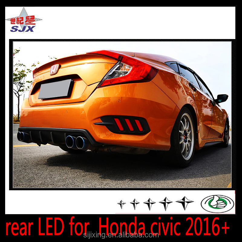 Fashionable Design LED DRL Lights for Honda Civic Excellent Quality Daytime Running Lights LED for Honda Civic 2016 2017